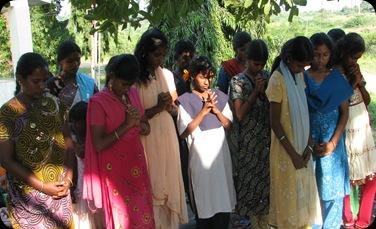 Commiting prayer